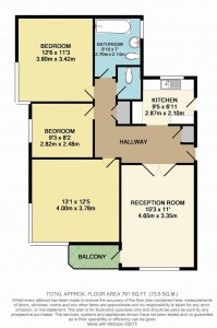 fairways 3 bed floorplan